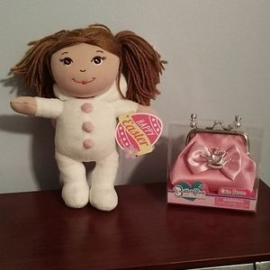 New mini Easter doll and purse